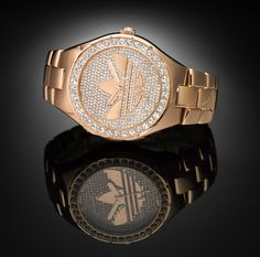 adidas Originals Melbourne Limited Edition Gold Watch
