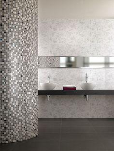 Obklady Villeroy obsahují i drahé kovy pro zvýšení luxusu, ale i barevného odstínu http://www.palazzio.cz
