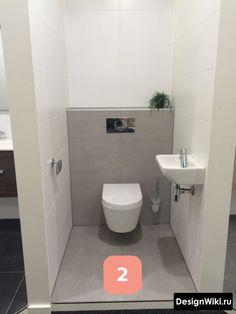Small Bathroom Design with Separate toilet Room Lovely Hellgrau Bathroom toilet Wc Badkamer Muurtje toiletpot Mosa Tegels Small Toilet Room, Guest Toilet, Downstairs Toilet, Cheap Bathrooms, Grey Bathrooms, Modern Bathroom, White Bathroom, Modern Sink, Understairs Toilet