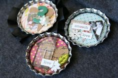 I just got a TON of bottle caps and I really want to make cute magnets!  @Marlena Newcomb @Chelsea Brown