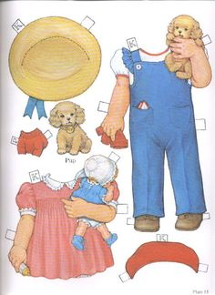 1985 Reproduction of BEST FRIENDS Paper Dolls Publisher: Dover <> Original 1930s by Queen Holden 7 of 16