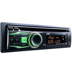 Autoestéreo JVC KD-R720 1 Din MP3, CD, USB, AUX, iluminación variable