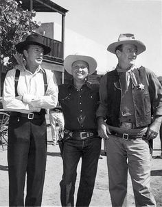 Gary Cooper, Gene Autry, and John Wayne!