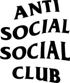 [HELP] ASSC (ANTI SOCIAL SOCIAL CLUB) Logo needed Vector or PSD/AI: vectorartrequests