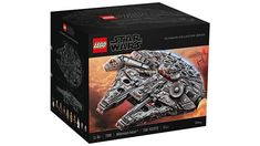 7541-Piece LEGO Star Wars UCS Millennium Falcon Back in Stock Gaming