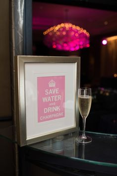 Laura   Clint at Hotel Zaza   Two Be Wed - Custom Wedding Signage and motto, Strawberry, Fuchsia and Magenta Color palette Photograpy: Love Lee Photography, Floral:Tamara Menges Designs, Stationary:Wedding Paper Divas