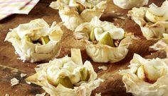 Die kleinen Ziegenkäse-Feigen-Strudeltörtchen eignen sich perfekt für einen kleinen, genussvollen Snack zwischendurch.
