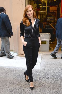 Jessica Chastain Is a Style Star - Jessica Chastain-Wmag