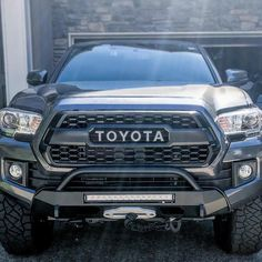 Custom off Road Bumpers for Toyota Tacoma. Available Low Profile Tacoma offroad Bumper, Tacoma Winch Bumper, Tacoma Front Bumper and 4x4 Accessories. Toyota Hilux, Toyota Tacoma Bumper, Toyota 4x4, Toyota Trucks, Toyota Tundra, Tacoma Grill, Tacoma Truck, Lifted Tacoma, Lifted Tundra