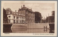 NL-HlmNHA_55015383, Collectie Braakman, St. Anthonius Patronaat en School Nr. H.21 / 12<br>Stempel 1925