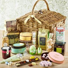 Easter delight hamper gifts pinterest hamper easter gift luxury easter hamper 15000 the ultimate in easter luxury negle Image collections