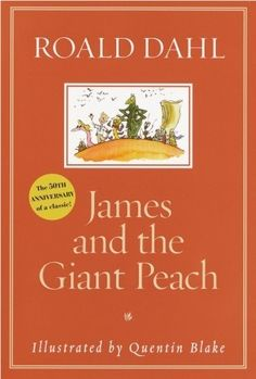 James and the Giant Peach, by Roald Dahl. Knopf, A young boy escapes from two wicked aunts and embarks on a series of adventures with six giant insects he meets inside a giant peach. James And Giant Peach, Ya Novels, Roald Dahl, Book Authors, Read Aloud, Ebook Pdf, Books Online, Good Books, Ya Books