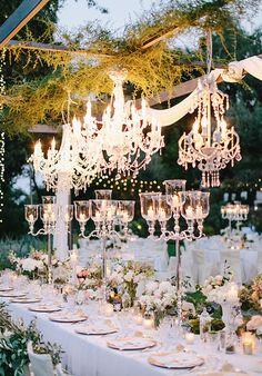 wedding chandeliers lighting ideas
