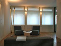 0004_Foto1 - Wartezone – Naegeli & Partner Rechtsanwälte AG: Zürich – Planung Raum- und Farbkonzept, Beratung Beleuchtung - d sein werke