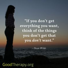 If you don't get what you want...