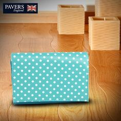 Contrary to popular belief, we beg to differ. There is never a wrong time for polka dots. Make a statement with this bright #blue #satchel because every #bag comes with a unique quote!