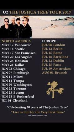 U2 The Joshua Tree Tour 1987-2017 #U2 #U2thejoshuatree #thejoshuatree #thejoshuatreetour2017 #stadedefrance #saintdenis #Paris #France #Europe #America #Northamerica #USA #Canada #thejoshuatreetour #music #musique #concert #gig #stadium #band #groupe #juillet #july #2017 #25 #26