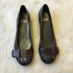 Brand New Stuart Weitzman Flats Never worn and absolutely stunning! No flaws on these at all! NO TRADES PLEASE Stuart Weitzman Shoes Flats & Loafers