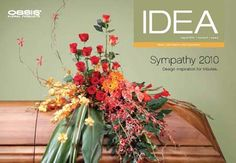 August 2010 Smithers Oasis Funeral and Sympathy Floral Arrangement Design Ideas