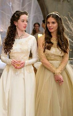 Lola and Kenna, Reign... the friendship between the girls is one of my favorite things