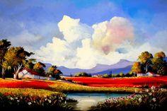 DE028: Decor > Canvas > Landscape   Supreme Mouldings