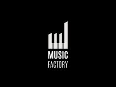 Music Factory Logo by Sava Stoic on dribbble.com | People who like this might also like my Music in Black and White board.
