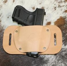 "OWB Holster ""The Coyote"" Model Belt Holster - Concealed Carry Wear"