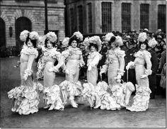 Victorian Lady, Mummers Desfile, Floradora Girl, Tv Yesterday, Girl Google,  Dumont Club, Vintage Mummers, Club 1931, Origins