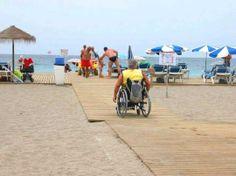 PLAYAS Adaptadas accesibles en silla de ruedas