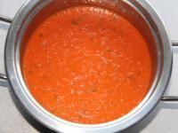 Rezept Ratz-Fatz Tomatensuppe diesmal mit Reis von tilasaniy - Rezept der Kategorie Suppen