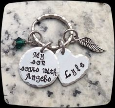 Remembrance Gift Necklace, Loss of Daughter, Son Memorial, Memorial Jewelry, Loss of Husband, Sympathy Gift