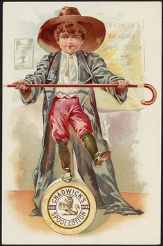 Chadwick's Spool Cotton [front] | Flickr - Photo Sharing!
