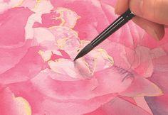 Vibrant Watercolor Techniques: Painting Flowers