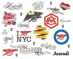 International tattoo artist and co-founder of Brooklyn's Three Kings Tattoo, Alex McWatt will collaborate with NYC Arsenal Supporters, the official supporter club of Arsenal FC, to give fans their. Arsenal Tattoo, Three Kings Tattoo, Arsenal Fc, Arsenal Football, Football Art, Skin Art, Tattoo Inspiration, I Tattoo, Sleeve Tattoos