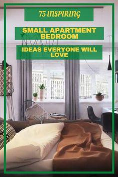 75 INSPIRING SMALL APARTMENT BEDROOM IDEAS EVERYONE WILL LOVE #smallapartmentbedroomideas Small Apartment Bedrooms, Small Apartments, Bedroom Ideas, Bedroom Decor, Inspiration, Home Decor, Biblical Inspiration, Decoration Home, Small Flats