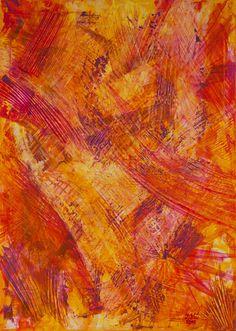 KOČIČÍM DRÁPKEM 50 x 70 cm Akryl na plátně 2016 www.zuzanakrovakova.cz BY CAT'S CLAW 50 x 70 cm Acrylic on canvas 2016 www.zuzanakrovakova.com