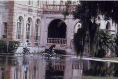 Access a high-quality version of this photo--The library during the flood of September, 1968 -- at our digital repository: purl.fcla.edu/ncf/wcslides or by clicking the image #NCF #slides