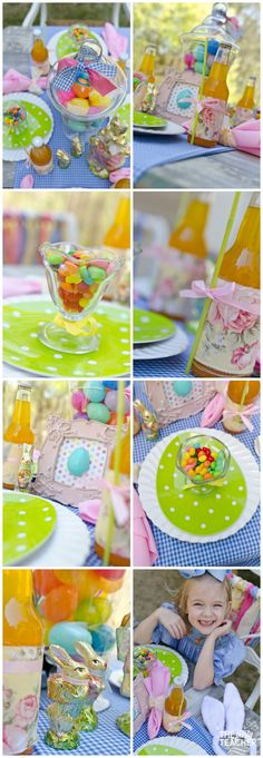 Shabby Chic Easter Party dining by The Party Teacher Baby Shower Parties, Baby Boy Shower, Teacher Party, Childrens Party, I Party, Party Planning, Birthday Parties, Shabby Chic, Dining Table