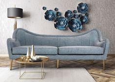 Glamor and fashion all in one piece. Do you require a Sofa or Armchair landscape like this? Take a look at the board and let you inspiring! See more clicking on the image.