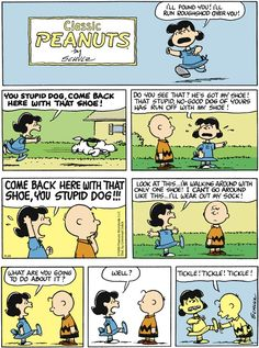 Peanuts Comic Strip, October 20, 2013 on GoComics.com