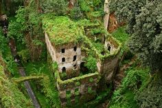 Valley of the Mills, Sorrento, Italy... This looks magical!!!