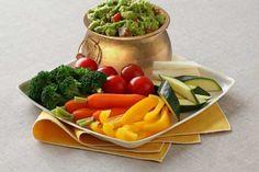 """Pot of """"green"""" - light St. Patrick's Day snack. #Avocados #StPatricksDay"""
