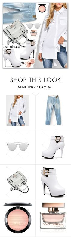 """""""Preppy Chic"""" by jecakns ❤ liked on Polyvore featuring MAC Cosmetics and Dolce&Gabbana"""