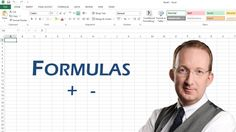 *Excel Formulas, Basics 1* Peter Kalmstrom explains how to use Excel as it was intended - with formulas. This demo demonstrates how to make Excel calculate plus and minus. Also refer to http://www.kalmstrom.com/Tips/ExcelFormulas1.htm