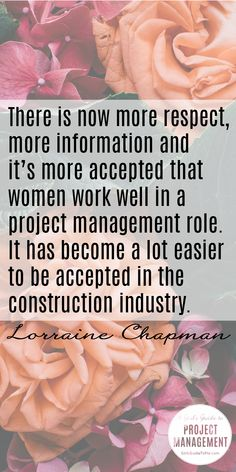 Read more about how women are succeeding in construction with this inspiring interview from Lorraine Chapman, project manager.