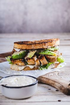 Chicken Caesar sandwich - Simply Delicious
