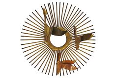 Sunburst Wall Sculpture on OneKingsLane.com