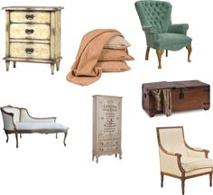 """""""Classic -French Style Bedroom"""" by kristina-law on Polyvore"""