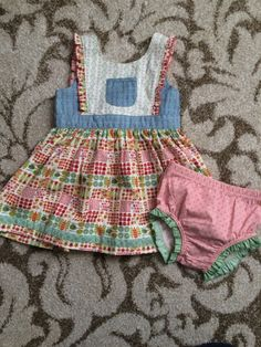 Check out this listing on Kidizen: 18-24 Mos Kennedy Dress W Diaper Cover #shopkidizen