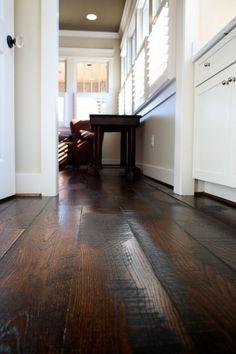 Keeping Hard Wood Flooring Looking Its Best Dream Master Bedroom, Flooring Options, Flooring Ideas, Floor Trim, Hardwood Floors, Dark Hardwood, Building A New Home, Wide Plank, Home Rugs